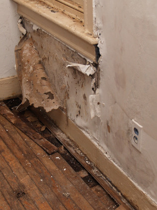 Drywall Water Damage